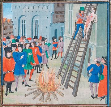 Hugh Despenser the Younger's Execution