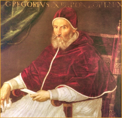 Pope Gregory XIII - Painting by Lavinia Fontana (1552–1614)