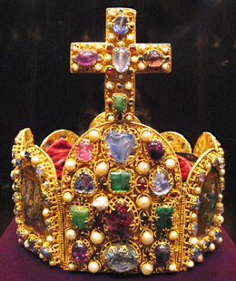 Imperial crown of the Holy Roman Emperor (11th century)