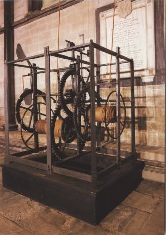 Salisbury Cathedral Clock from 1386