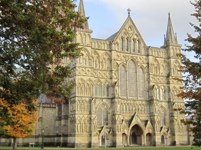 Salisbury west front