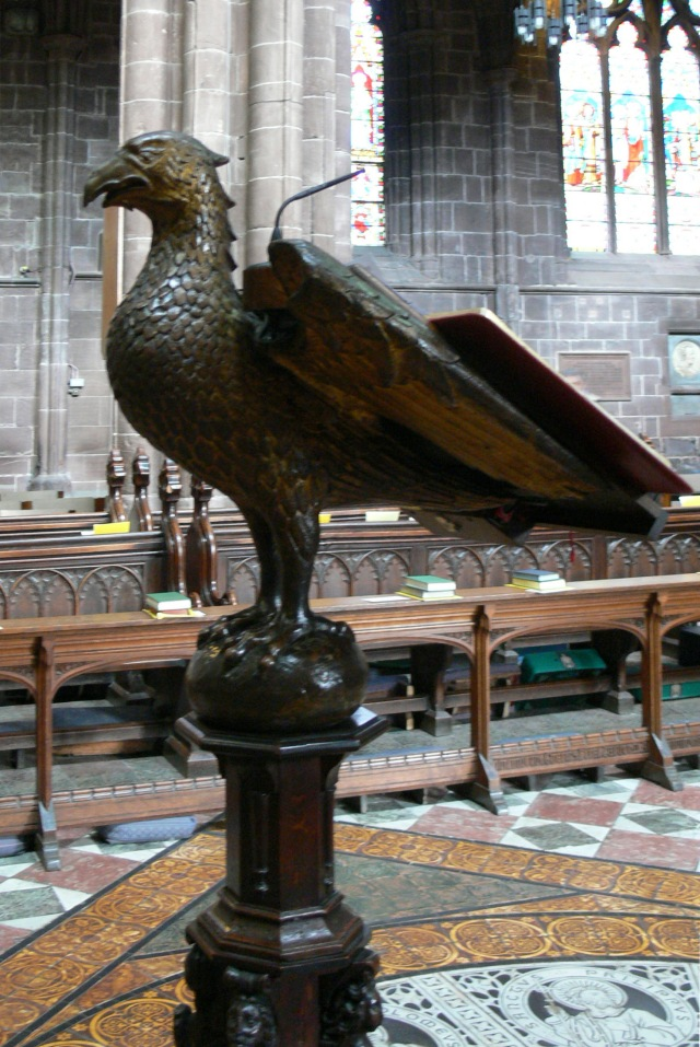 Lectern Chester_Cathedral